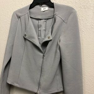 Have blazer jacket crossed back full zip I2